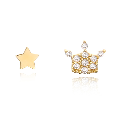 [14K] 퀸즈에일 귀걸이_GE_164