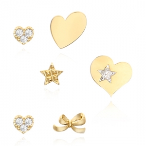 [14K] 러블리 다이아몬드 귀걸이_GE_243