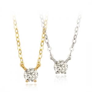 [18K] 메리미 다이아몬드 1부 목걸이_GN_299