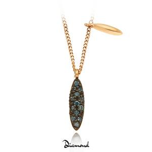 [14K] 실비아 다이아몬드 목걸이 (FN0332GB)